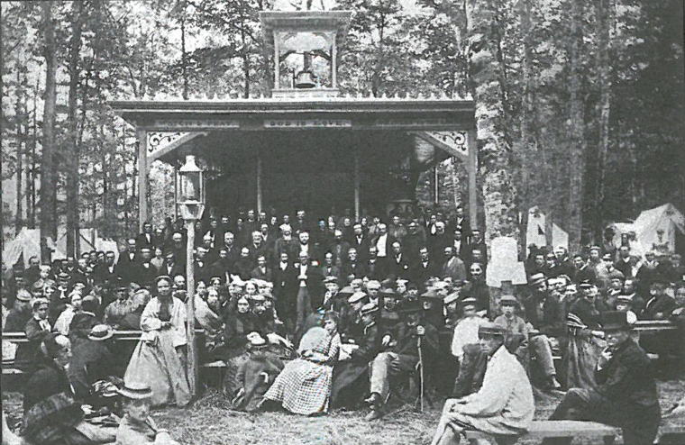 Round Lake Camp Meeting Historical Photo