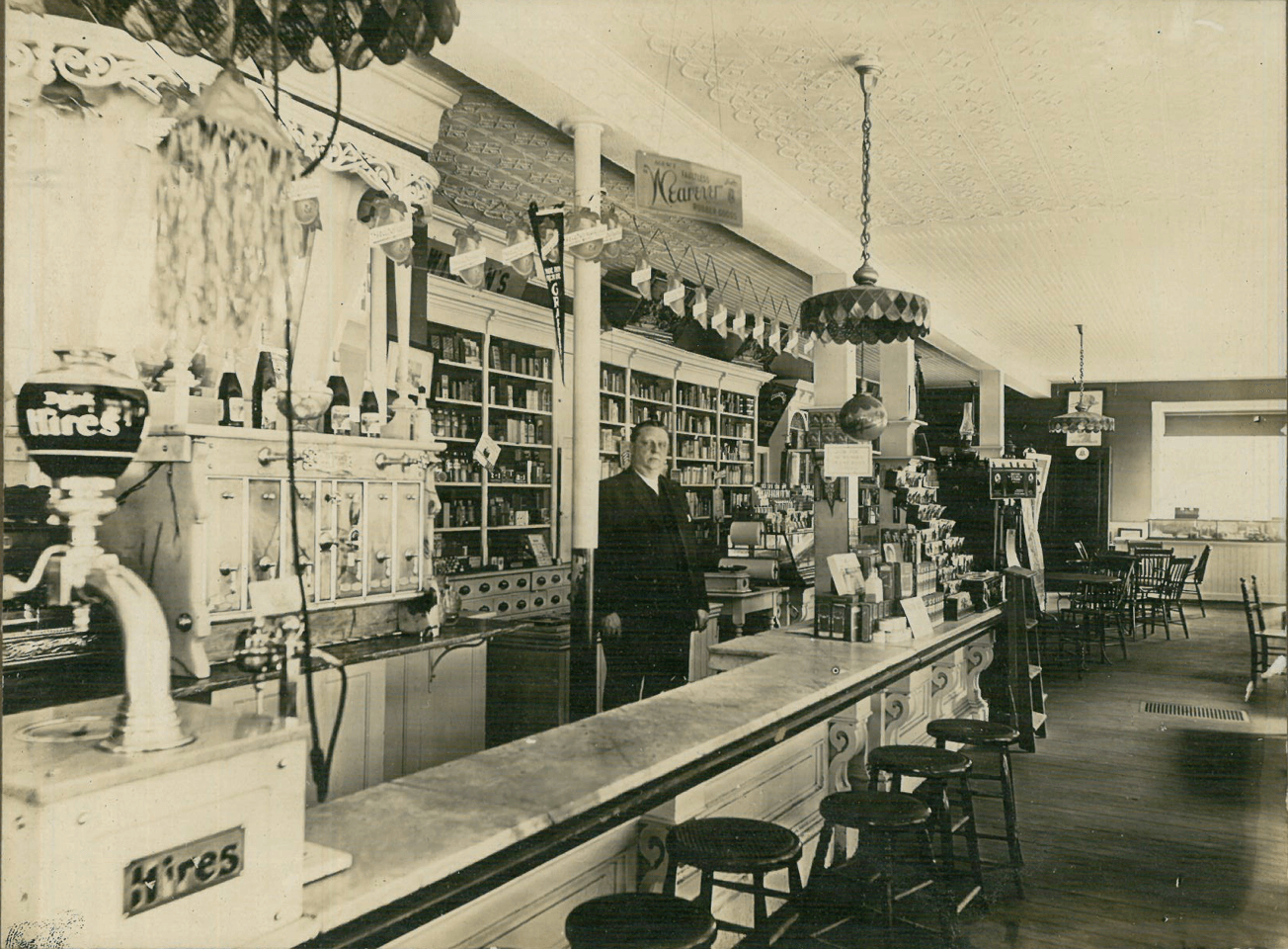 Drug Store in the Arcade